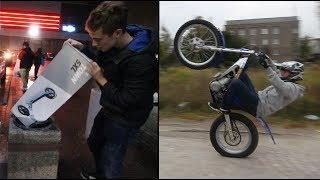 Kupiłem hulajnogę, ale motocykle to lepsza zabawa