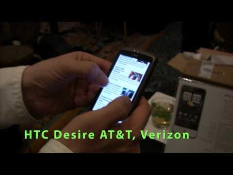 HTC Desire, HTC Legend, HTC HD2 and HTC Smart Explained