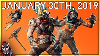 MAYHEM & POWER CHORD ARE BACK! January 30th New Skins || Daily Fortnite Item Shop