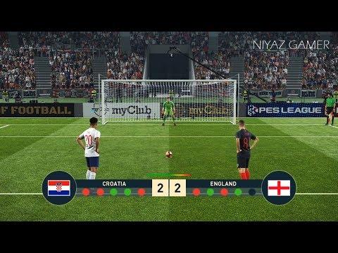 CROATIA vs ENGLAND | Penalty Shootout | PES 2019 Gameplay PC