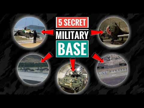 Indian Military Base - Top 5 Secret Military & Air Bases Of India | Secret Military Base (Hindi)