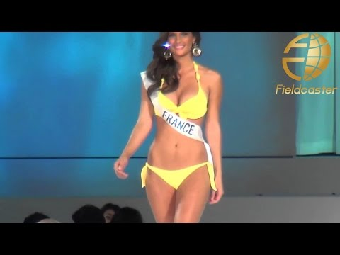 Miss International 2014 『世界で一番いい体』水着審査 ミス・パーフェクトボディ賞 ミス・インターナショナル Miss France