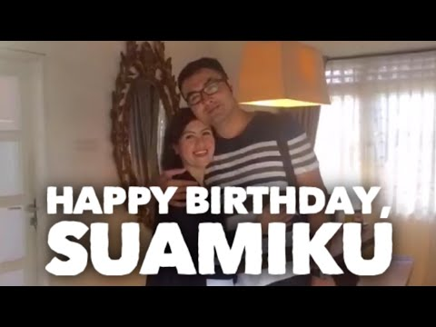 Happy Birthday, Suamiku
