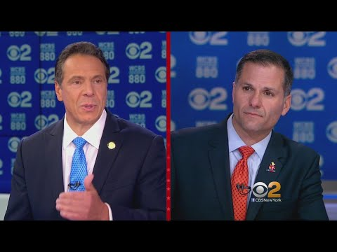 Video: Gov. Andrew Cuomo and Republican challenger Marc Molinaro meet in a 60-minute debate before the election for New York Governor.