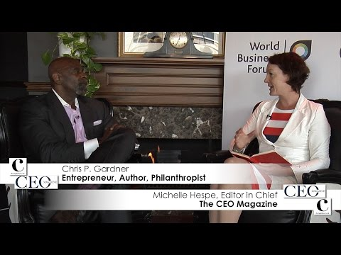 Chris Gardner's interview with The CEO Magazine
