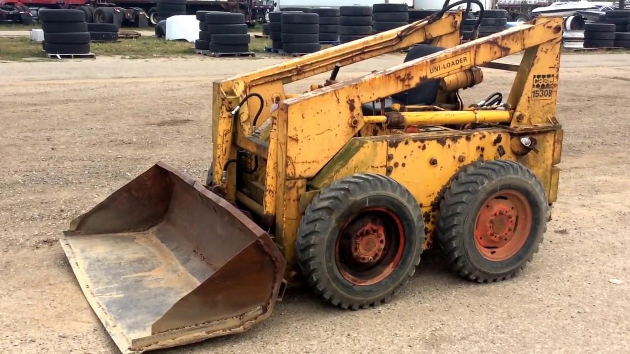 Case 1530B Skidsteer Loader   For Sale   Online Auction