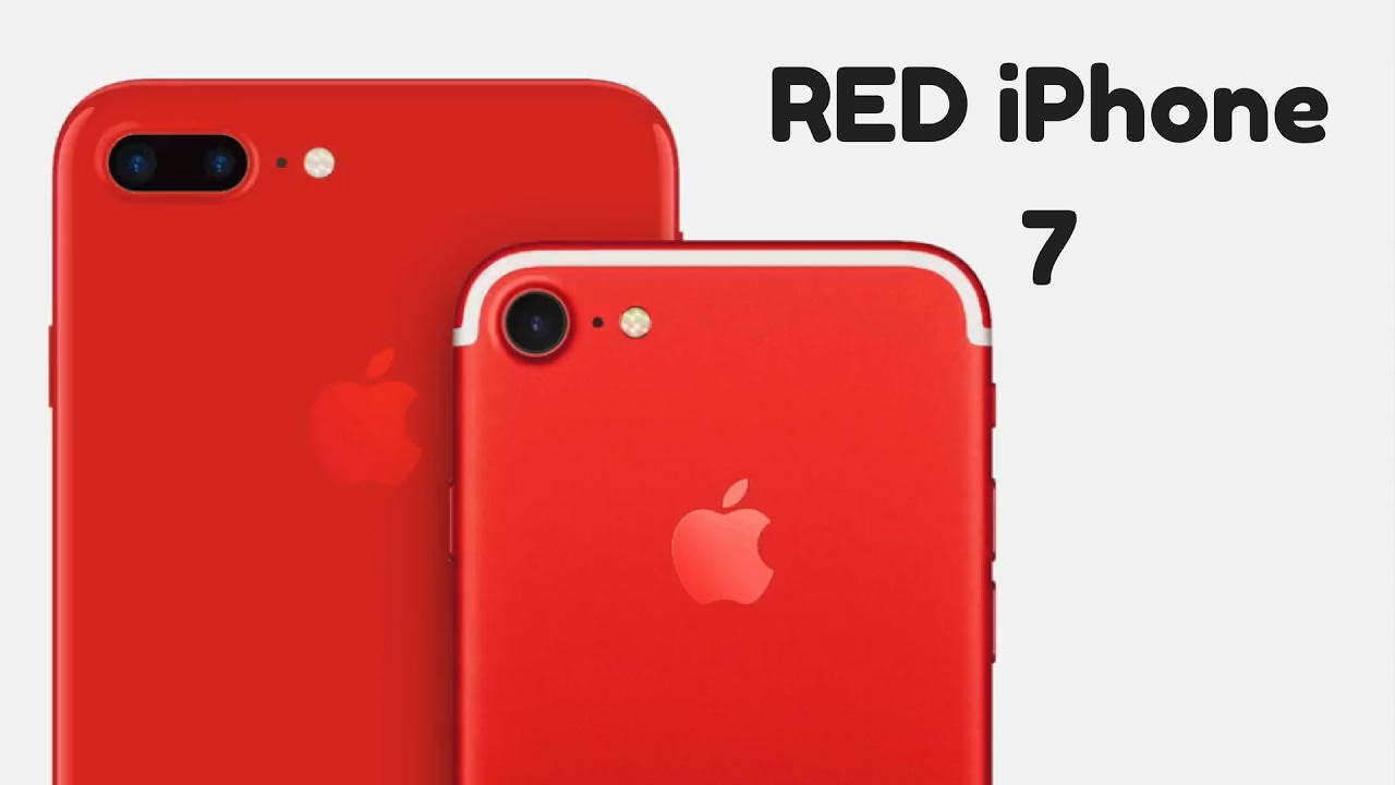 New Red IPhone 7 Color