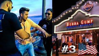 Ich ESSE ALLES in LOS ANGELES | BUBBA GUMP!