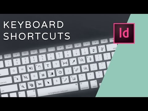 10 InDesign Keyboard Shortcuts