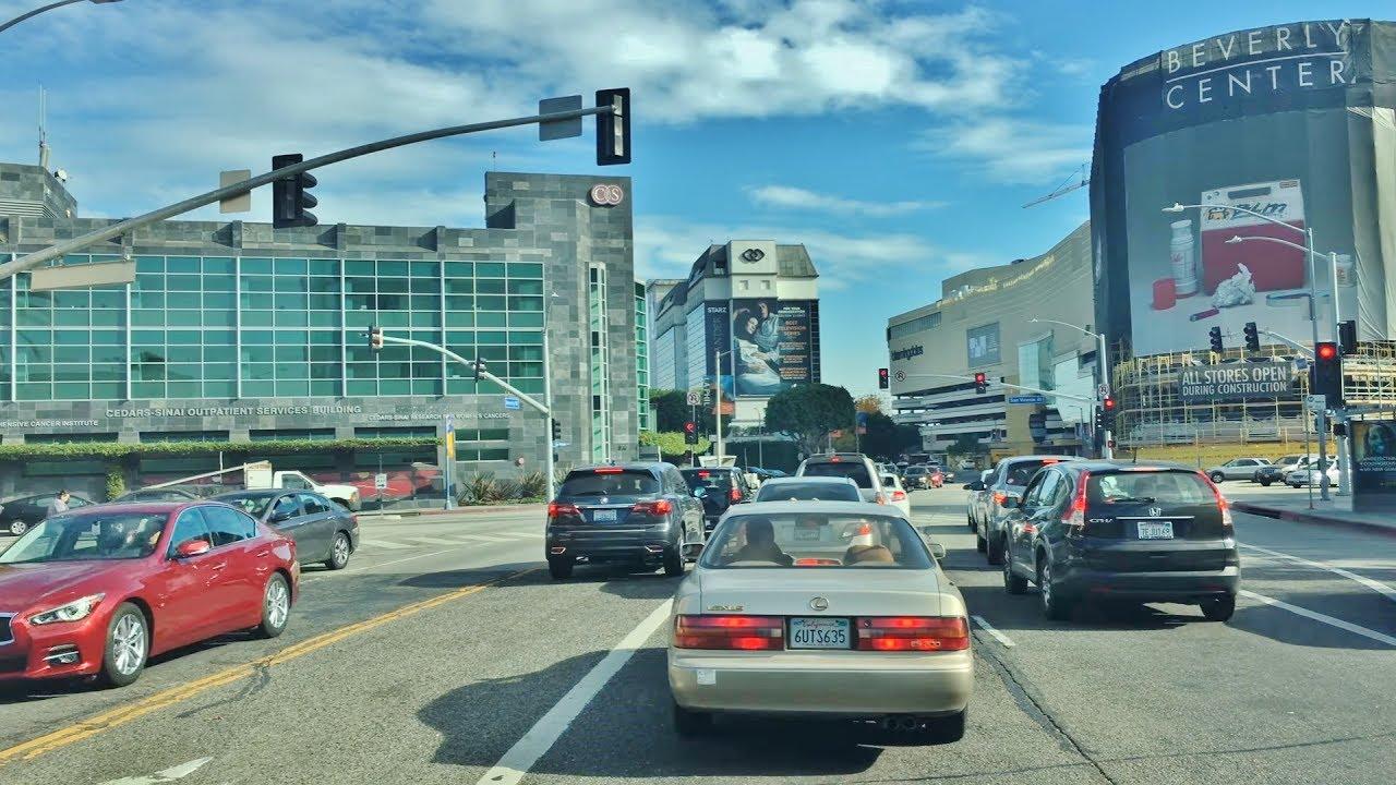 Driving Downtown - TMZ Zone 4K - Los Angeles USA