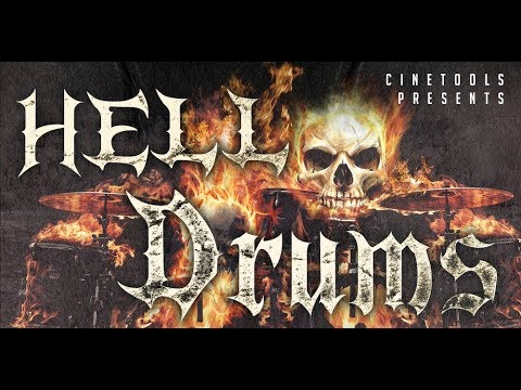 """""""Hell Drums"""" Cinematic Drum Library by Cinetools"""