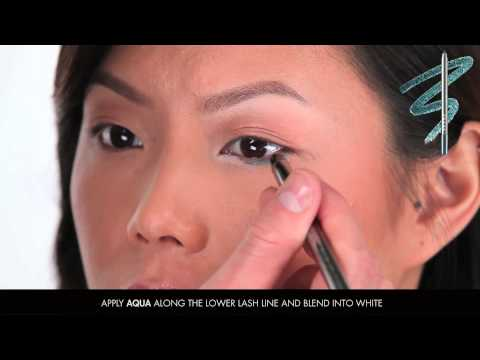 LORAC Front of the Line PRO Eye Pencils Tutorial: Brown Eyes