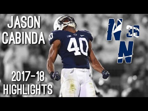 Jason Cabinda 2017-18 Highlights ᴴᴰ || Penn State LB #40
