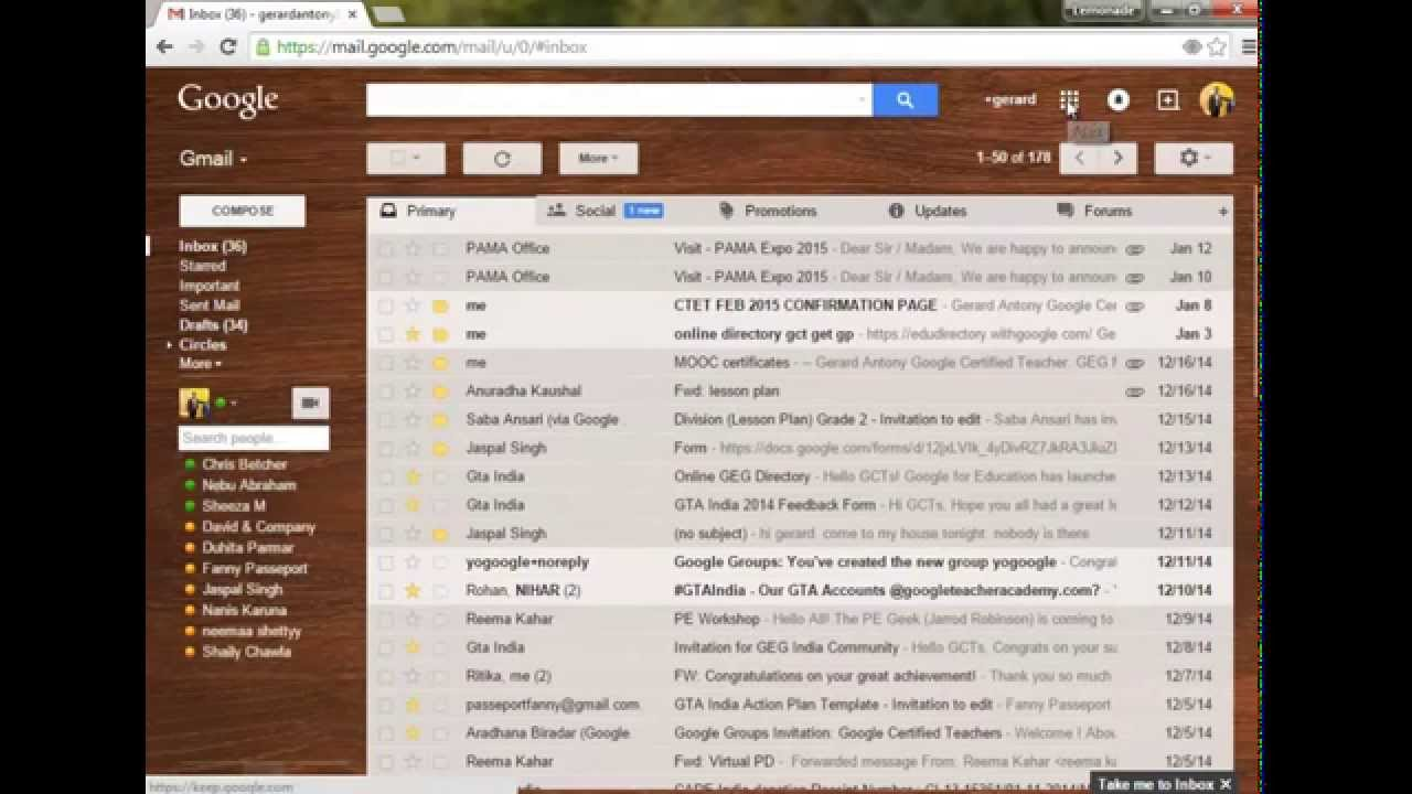 how to add gmail to apple watch