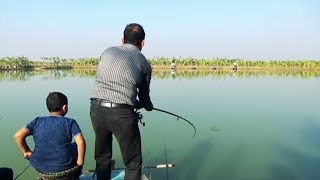 Best Catla Fish Hunting And Fishing By Dollar