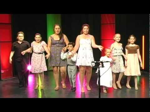 The Ambiance Dance Academy perform a Sound of Music medley