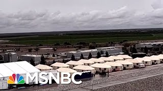 An Inside Look At Shelters And Tent Cities | Velshi & Ruhle | MSNBC