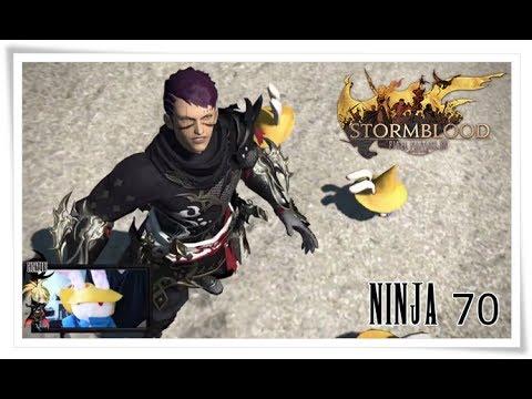 ffxiv stormblood ninja jobquest 70 schlag aus dem verborgenen