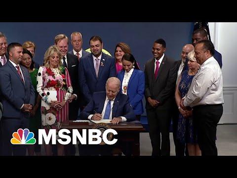Biden Signs Law Designating Pulse Nightclub As A National Memorial