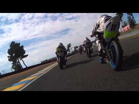 Course Coupe Yamaha Yzf-r 125 Le Mans 2014