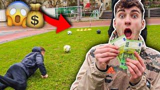 Wer DIESE FUßBALL GOLF CHALLENGE gewinnt bekommt 200€ !