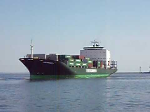 "M/V ""UNI-PROBITY""  EVERGREEN CONTAINER SHIP"