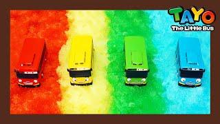 Мощные большегрузные автомобили l Тяжелые автомобили Тайо Rainbow Special l Приключения Тайо