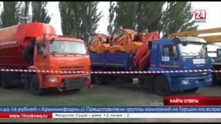 Сергей Аксёнов своими глазами увидел, как подрядчики пытаются делать ямочный ремонт в Белогорске