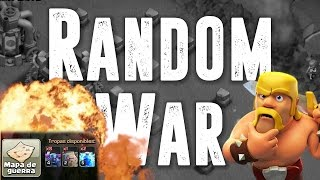 Random War #37: ATAQUE DE 8 PEKKAS INCLUIDO! | Clash of Clans