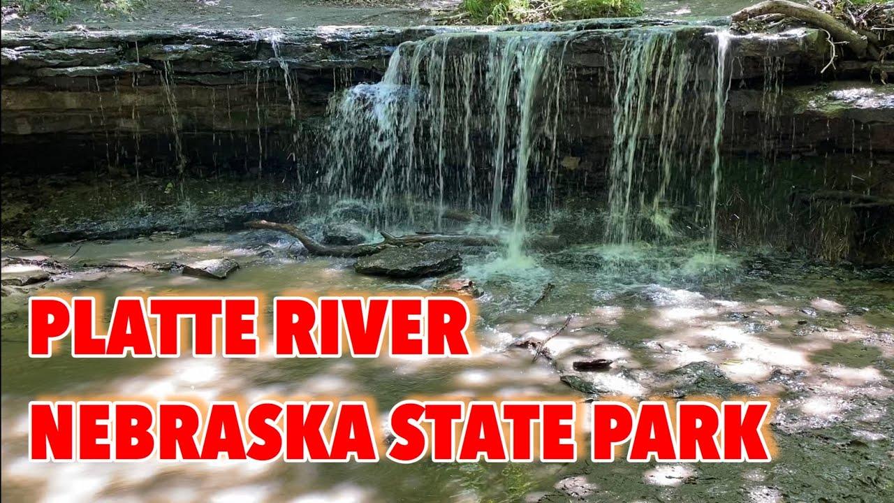 Water Fall - Platte River - NE State Park | ALL SEASONS USA