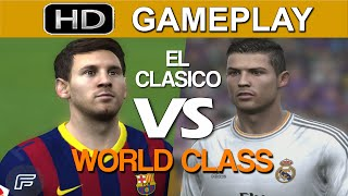 FIFA 15 Gameplay - Barcelona vs Real Madrid [1080p HD PS4] World Class Mode