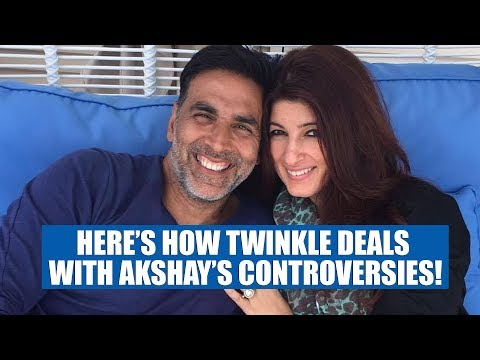 Here's How Twinkle Khanna Deals With Akshay Kumar's Controversies!