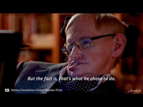 How Indian Engineers Helped Stephen Hawking 'talk'