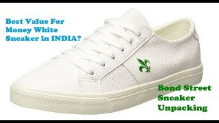 Bond Street Men's Sneaker (White) Unboxing Video