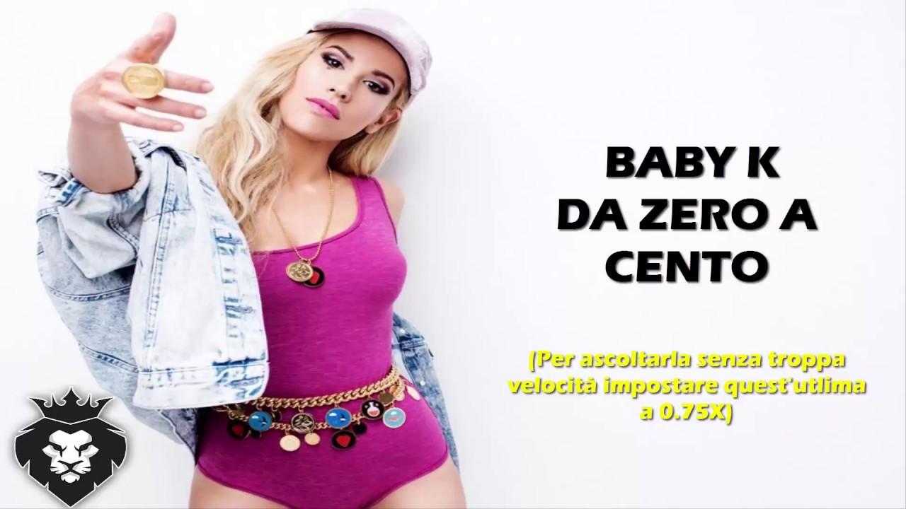 Baby K - Da zero a cento Lyrics - YouTube