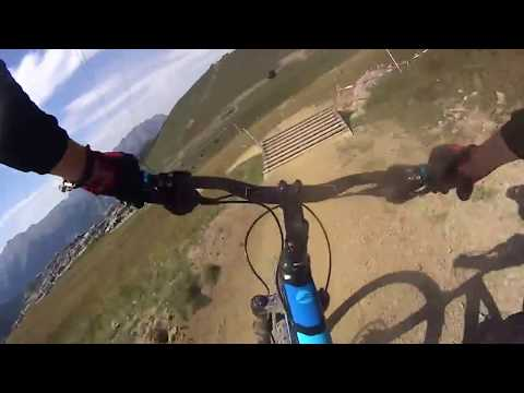 alp d'huez bike park d1 downhill trail
