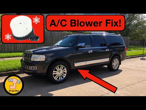 How To Remove Ac Blower For Navigator / Expedition