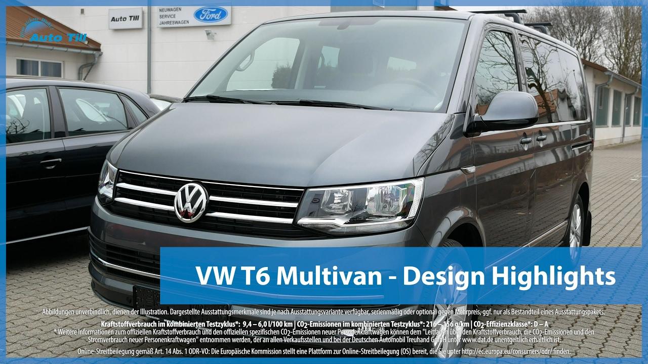 vw t6 multivan design highlights 4k uhd youtube. Black Bedroom Furniture Sets. Home Design Ideas