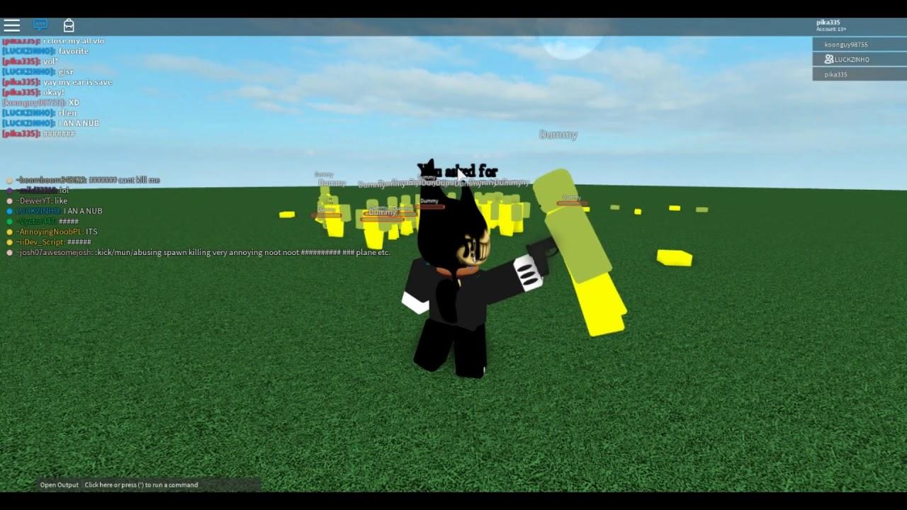 Roblox I Bendy Geno v2!!(they troll me