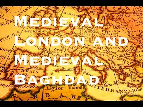 Medieval London and Medieval Baghdad💚Projects💚| Olivia Daisy