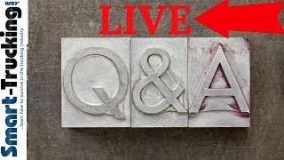 LIVE! Q +A  With Smart Trucking!