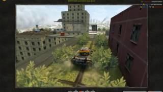 Tanki Online Мини-игра шпионы на карте Небоскрёбы.