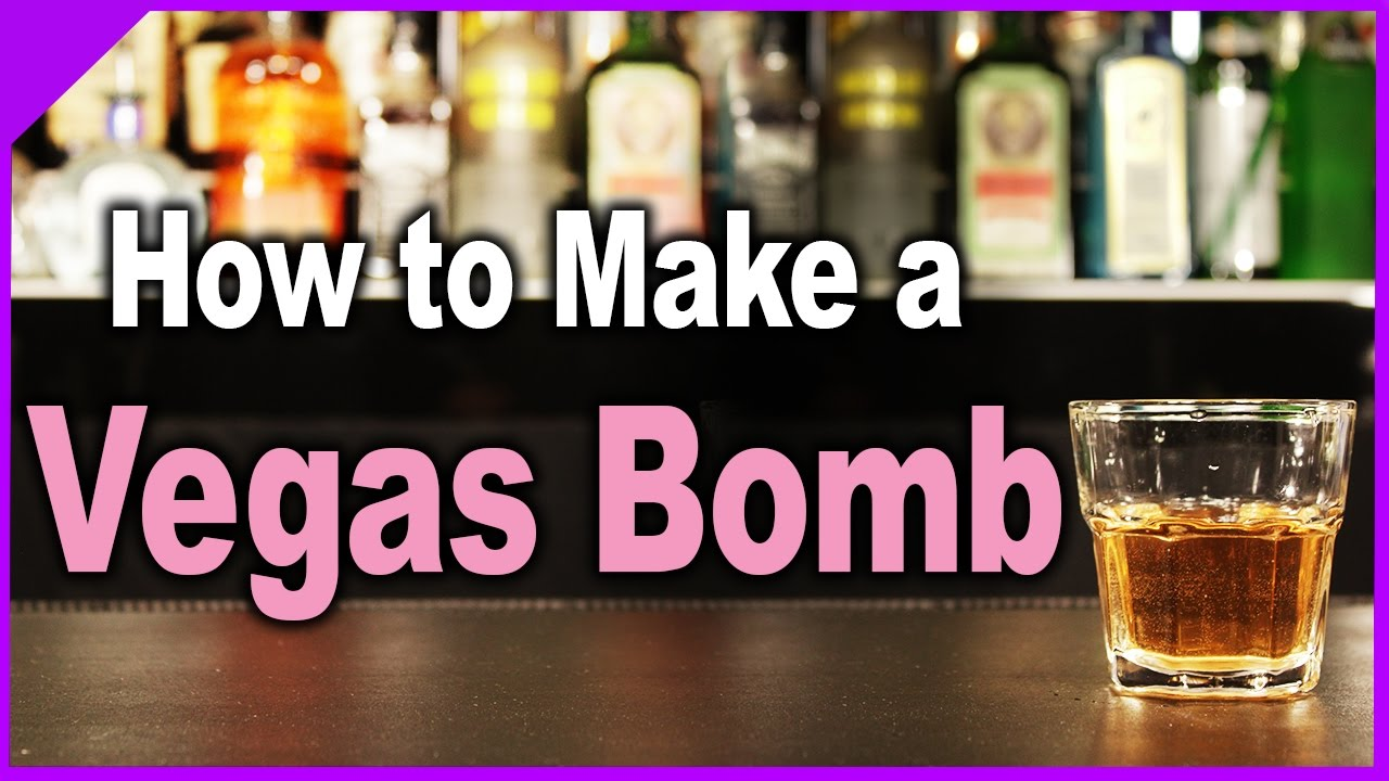 How to Make a Vegas Bomb   Popular Cocktails - YouTube