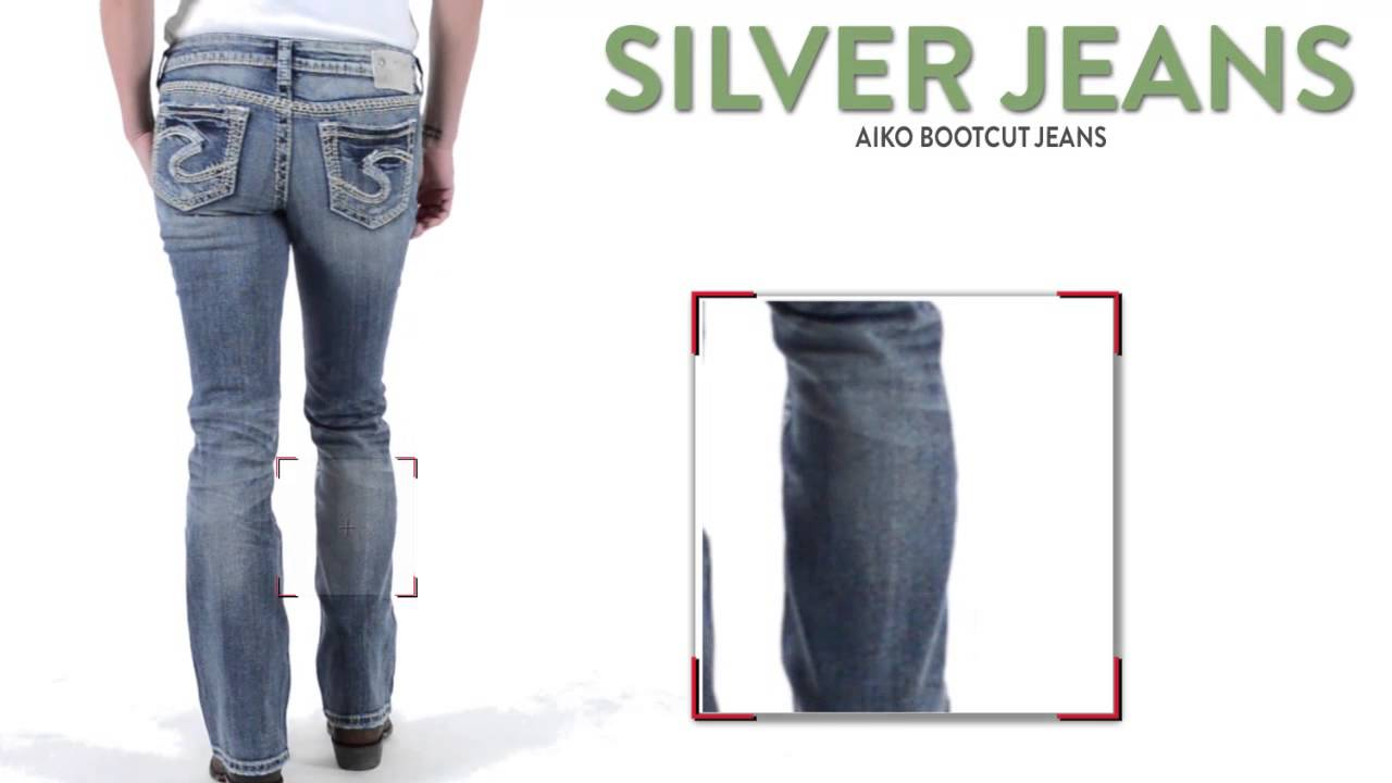 Silver Jeans Aiko Bootcut Jeans - Mid Rise (For Women) - YouTube