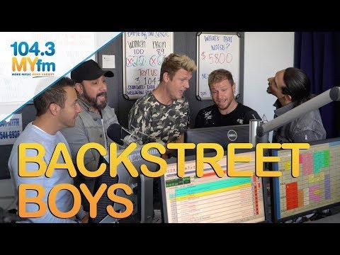 Backstreet Boys Serenade Jill + Talk 'Don't Go Breaking My Heart' New Music & More