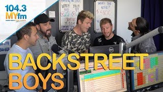 Backstreet Boys Serenade Jill + Talk 'Don't Go Breaking My Heart' New Music & More