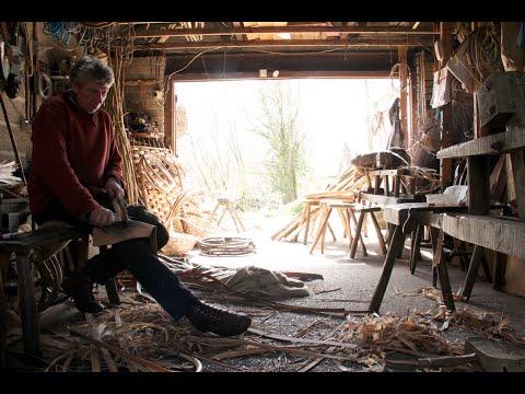 Oak Swill Basket Weaving