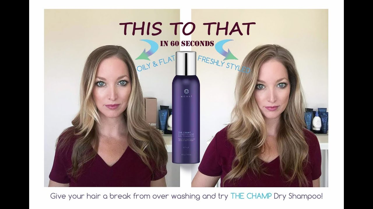 Monat Dry Shampoo | Great hair in 60 Seconds! - YouTube
