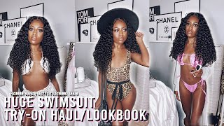 HUGE 2020 SWIMSUIT TRY ON HAUL/LOOKBOOK! | Fashion Nova, PrettyLittleThing, Shein