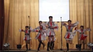 Казачья лезгинка (стилизация народного танца)